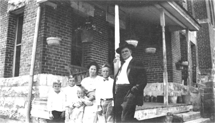 Sheriff R.M. Hudson and family